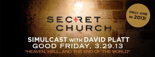 Secret Church 2013